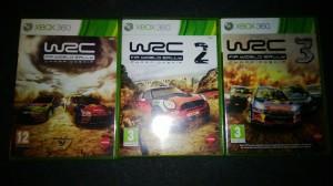 WRC collection, första på rusta och resten självklart på Tradera.